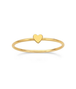 Corazoncito Stacking Ring