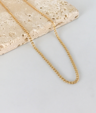 Load image into Gallery viewer, CUBAN LINK CHAIN NECKLACE | 2MM