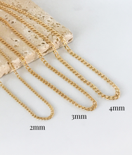 Load image into Gallery viewer, CUBAN LINK CHAIN NECKLACE | 3MM