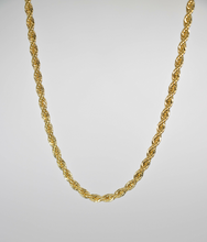 "Load image into Gallery viewer, FRENCH ROPE 16"" CHAIN NECKLACE 