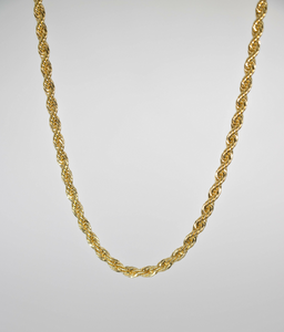 "FRENCH ROPE 16"" CHAIN NECKLACE 