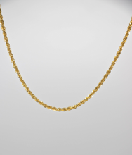 Load image into Gallery viewer, FRENCH ROPE CHAIN NECKLACE | 2.5MM