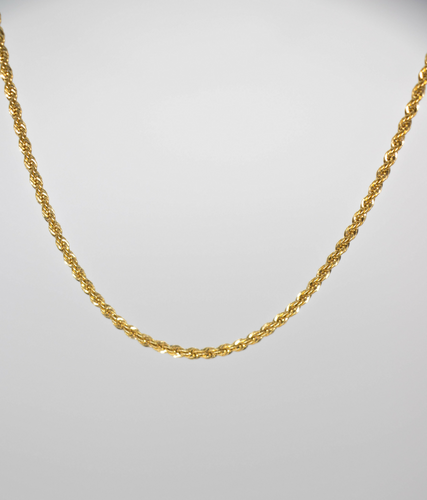 FRENCH ROPE CHAIN NECKLACE | 2.5MM