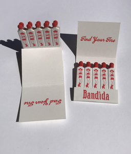 Find Your Fire Matchbook