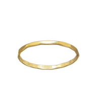 Load image into Gallery viewer, Hammered Stacking Ring