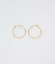 Load image into Gallery viewer, Candela Gold Filled Tube Hoops