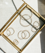 Load image into Gallery viewer, Elena Gold Filled Endless Hoop