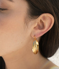 Load image into Gallery viewer, hoops, gold, earrings, accessorize, accessories, cuffs, jewelry