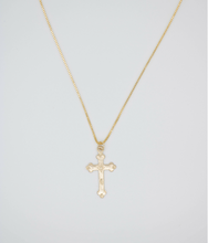 Load image into Gallery viewer, La Cruz Gold Filled Necklace