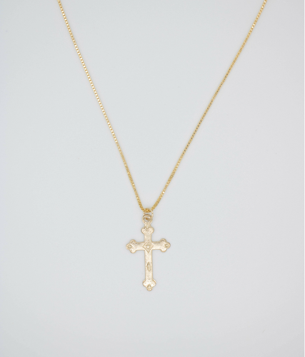 La Cruz Gold Filled Necklace