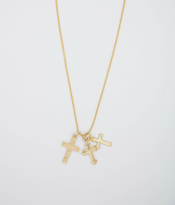 Las Cruces Gold Filled Necklace