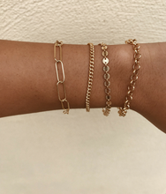 Load image into Gallery viewer, Para Siempre Gold Filled Bracelet