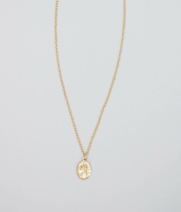St. Christopher Gold Filled Necklace