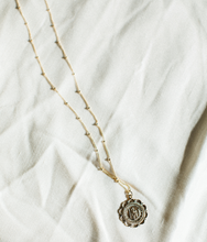Load image into Gallery viewer, St. Christopher Gold Filled Necklace, Holy Traveler Necklace
