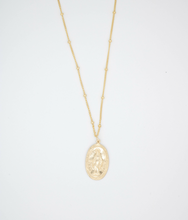 Load image into Gallery viewer, Virgen Maria Gold Filled Necklace