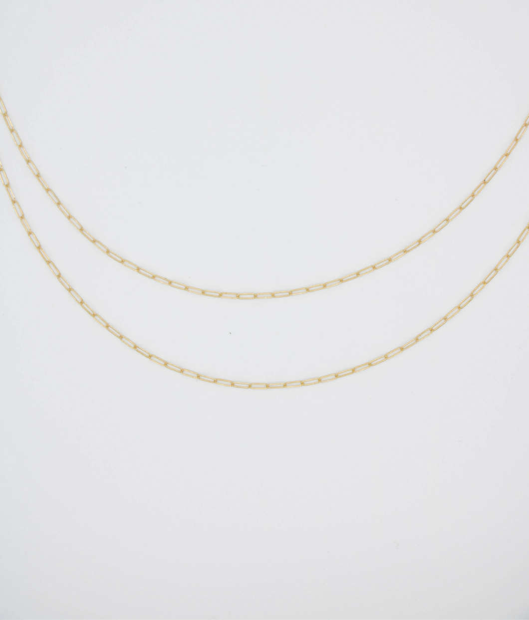 Wild Bandit Layered Gold Necklace