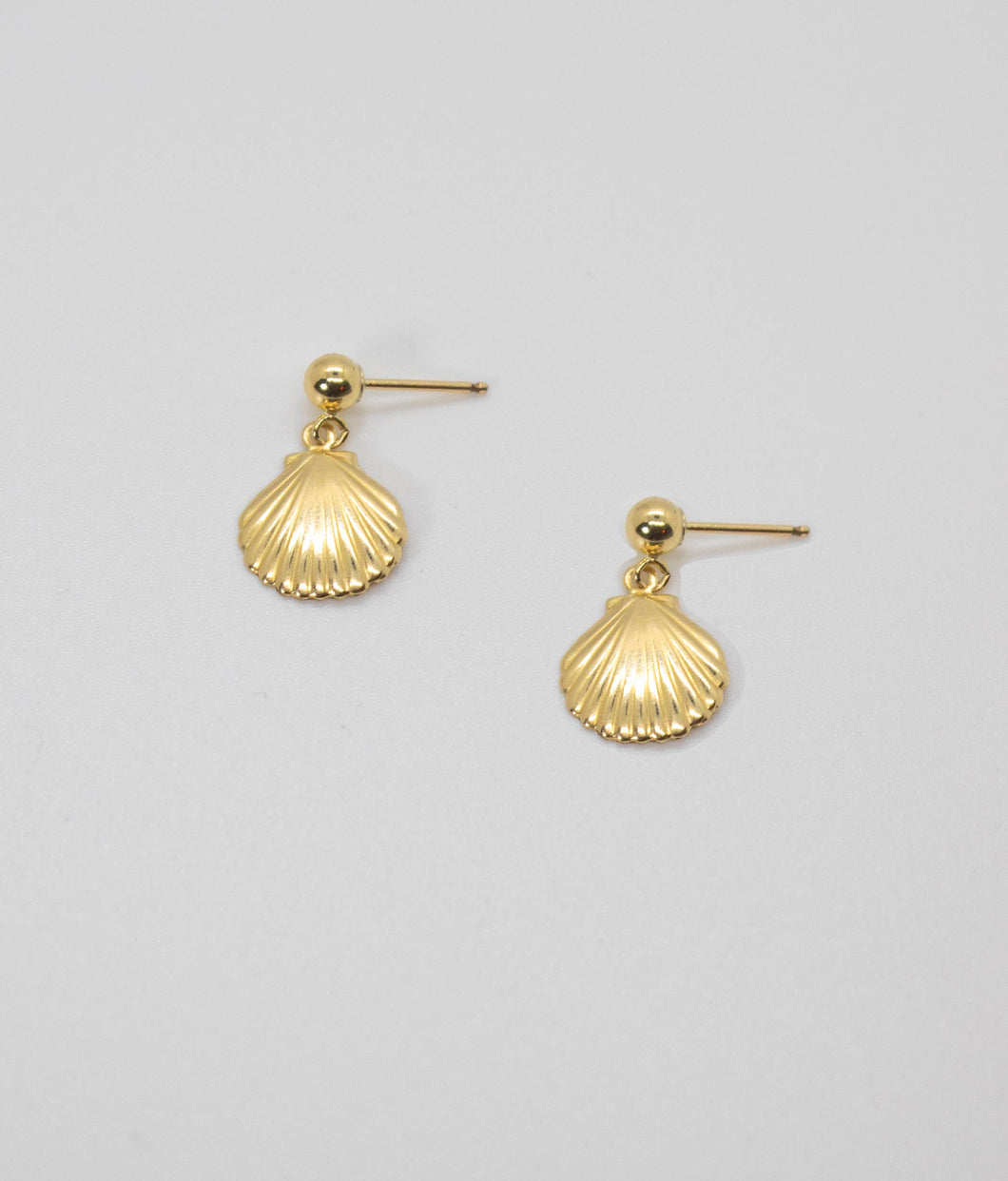 CONCHA DROP EARRINGS