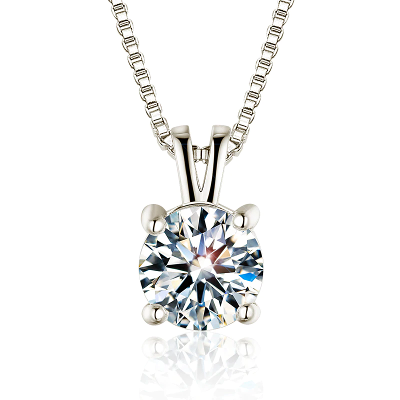 Classic Center Diamond Necklace