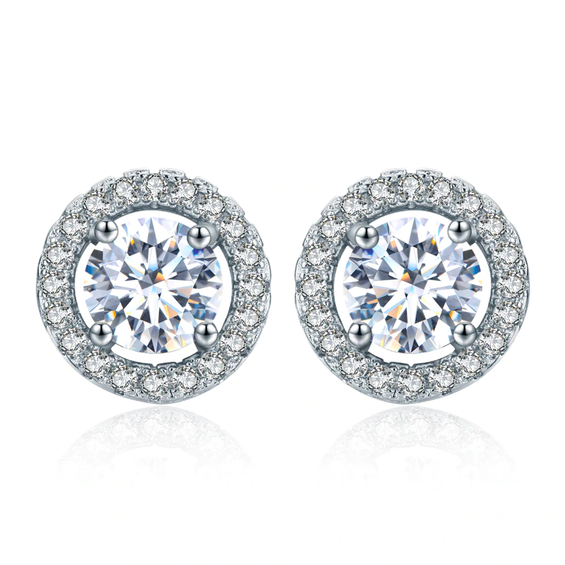 Royal Halo Earrings