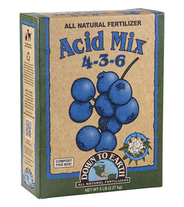 Acid Mix 4-3-6 Organic Fertilizer, Mini (1 lb.)