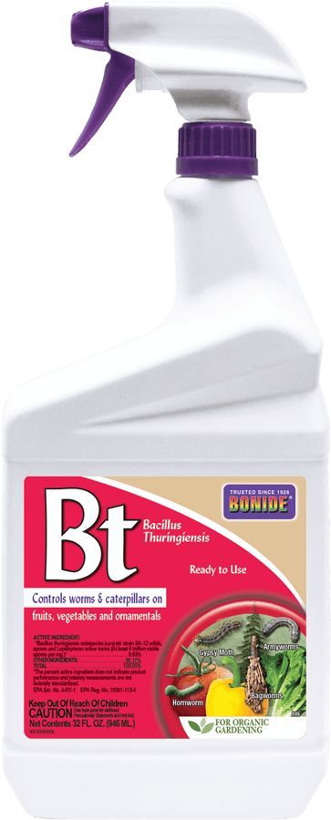 Bonide BT Thuricide Spray, 1 qt.