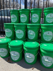Chicago Compost by Healthy Soil Compost LLC, 5 Gallon Bucket