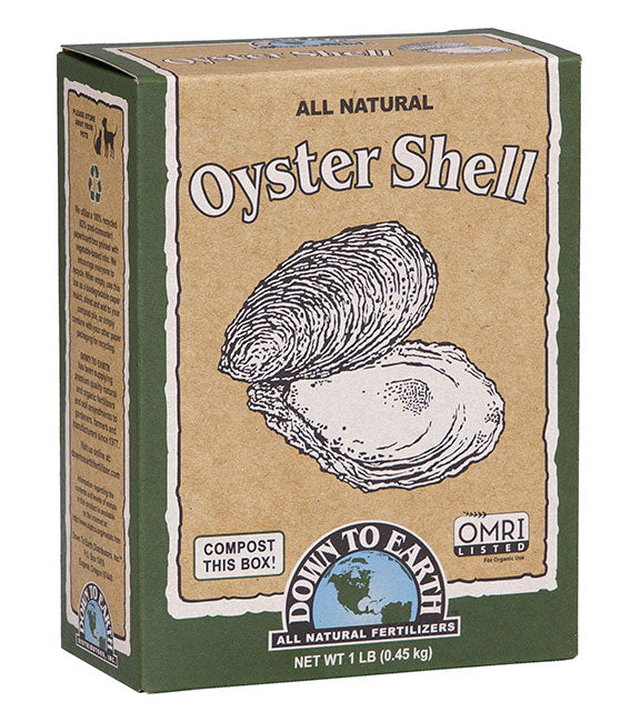 Oyster Shell Organic Amendment, Mini (1 lb.)
