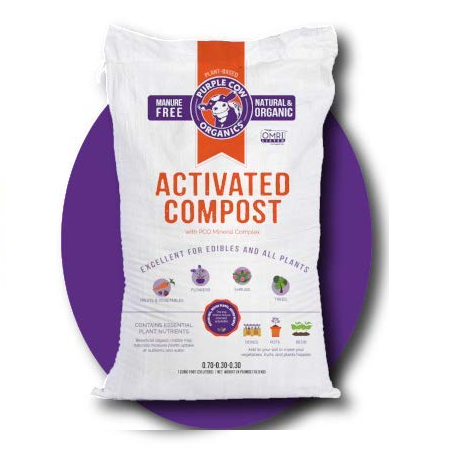 Purple Cow Activated Compost, 1 CF Bag