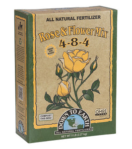 Rose & Flower Mix 4-8-4 Organic Fertilizer, Mini (1 lb.)