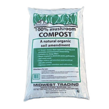 Load image into Gallery viewer, Mushroom Compost, 1.5 Cubic Foot Bag