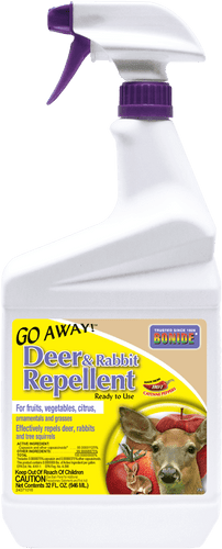 Bonide Go Away Deer & Rabbit Repellent, 1 Qt.
