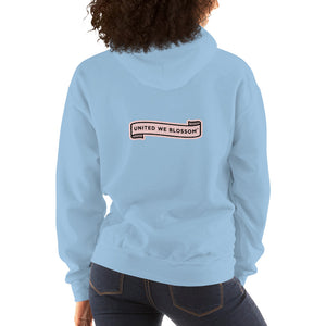 United We Blossom super hoodie