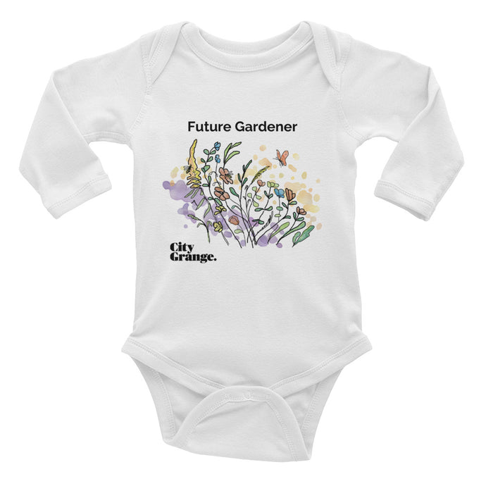Future Flower Gardener - Infant Long Sleeve Bodysuit