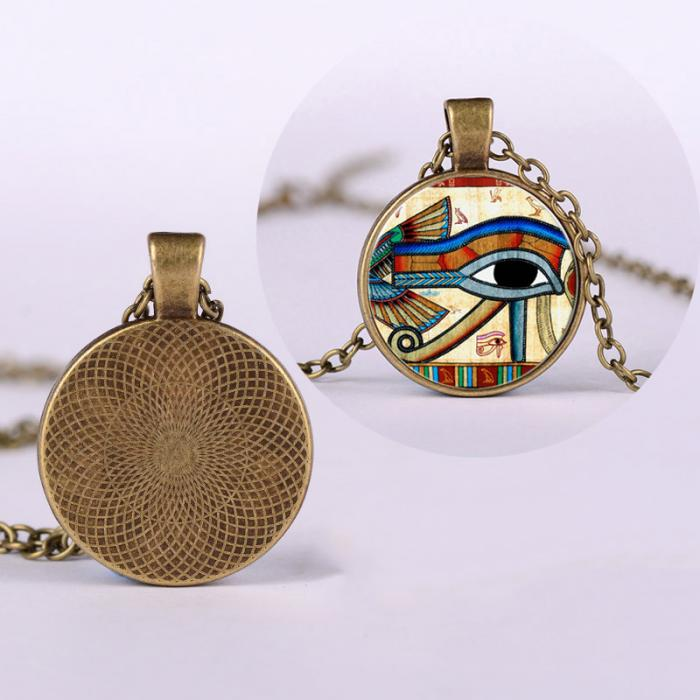 Egyptian Eye Necklace