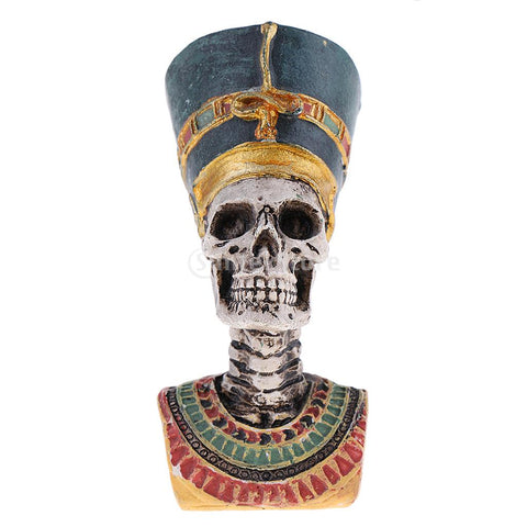 Egyptian Statue | Pharaoh Skull