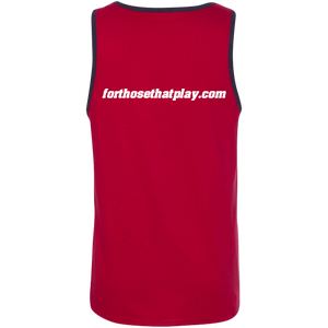 """Just Hit"" 100% Cotton Tank Top"