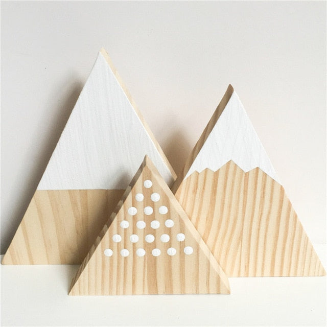 Nordic Top Mountain Bookends