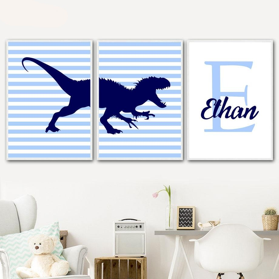 Custom Dinosaur Wall Art