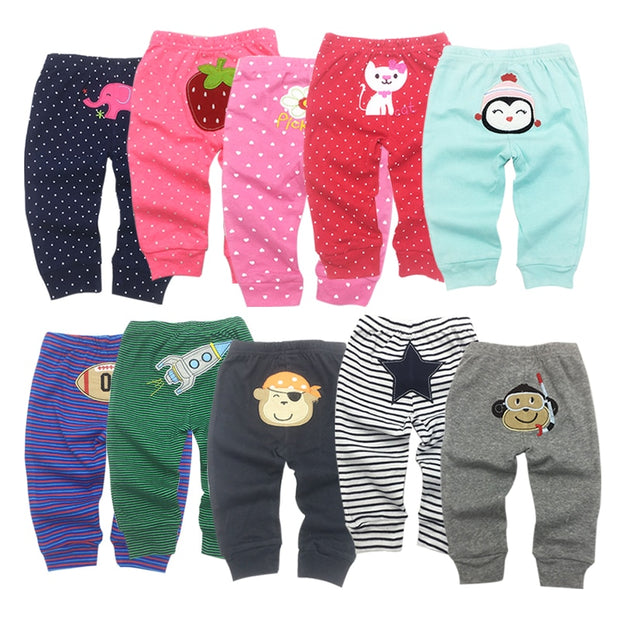 5 pack baby pants 0-24mths
