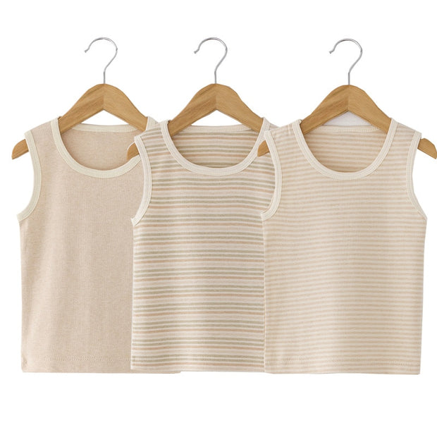 Organic Cotton Sleeveless Shirt