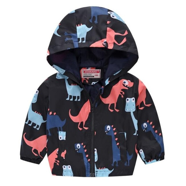 Hooded Wind Breaker Jacket