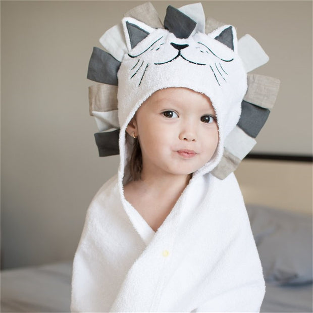 Kids Cotton Hood Towel