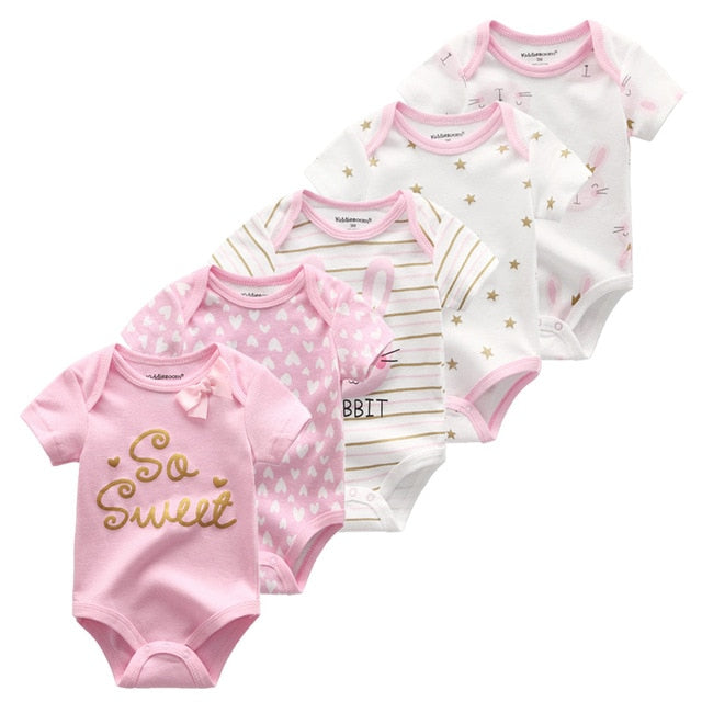 5-pack Cute Baby Sets 0-12M