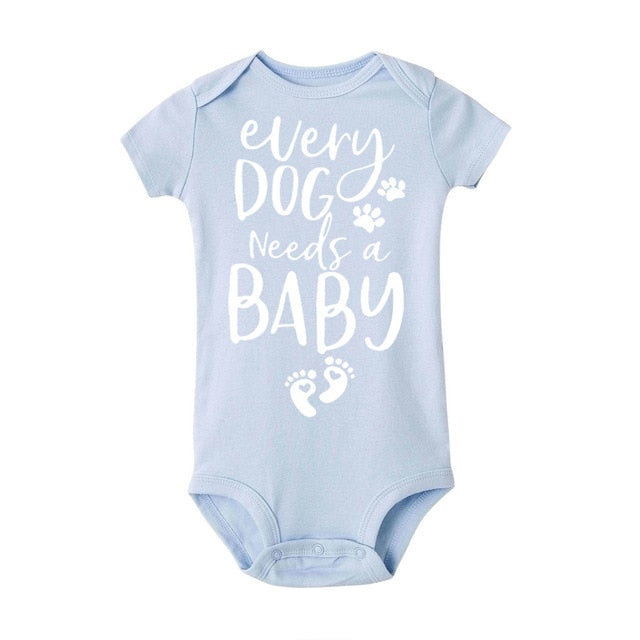 Every Dog Needs A Baby Romper 0-24M