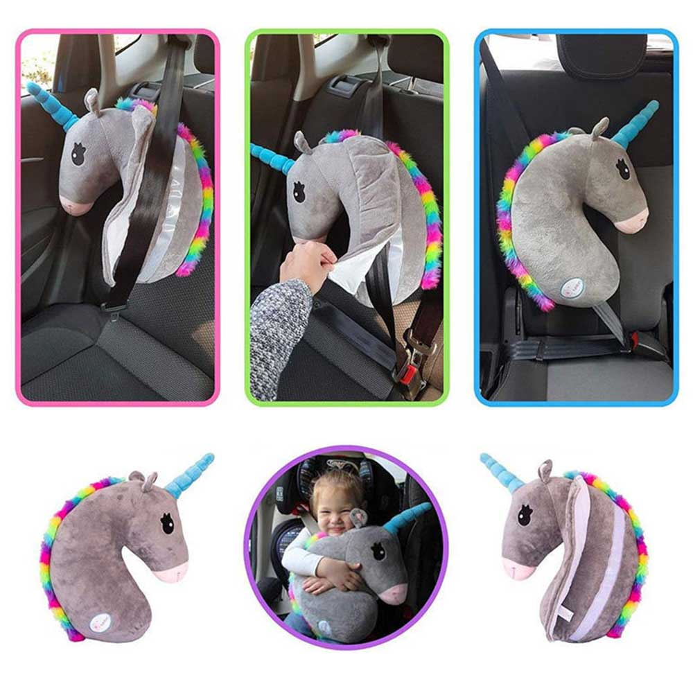 Kid Seat Belt Neck Support Pillows