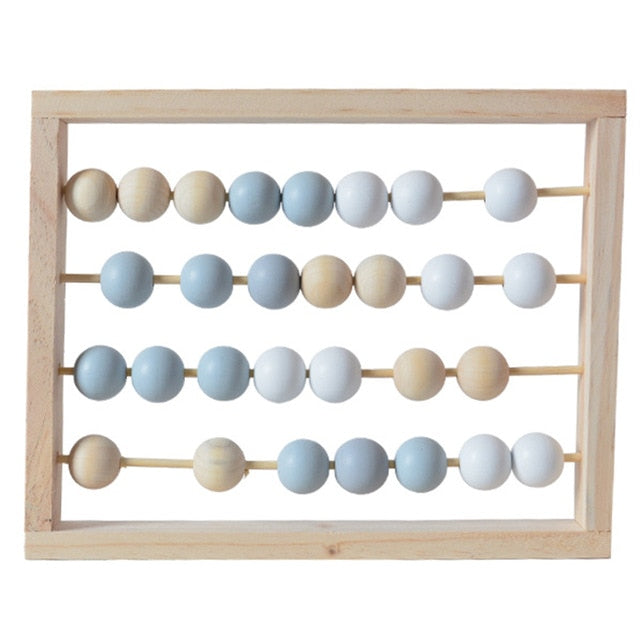 Wooden Abacus Calculating Beads