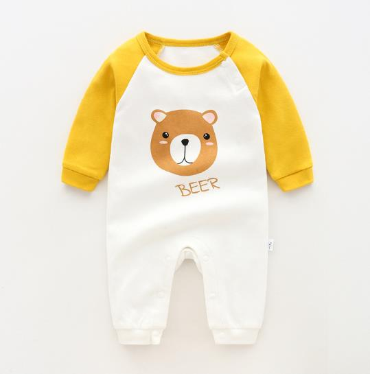 Spring Cotton Romper 6-24M