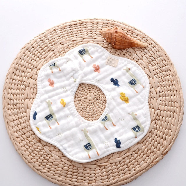 360 Degree Muslin Bib