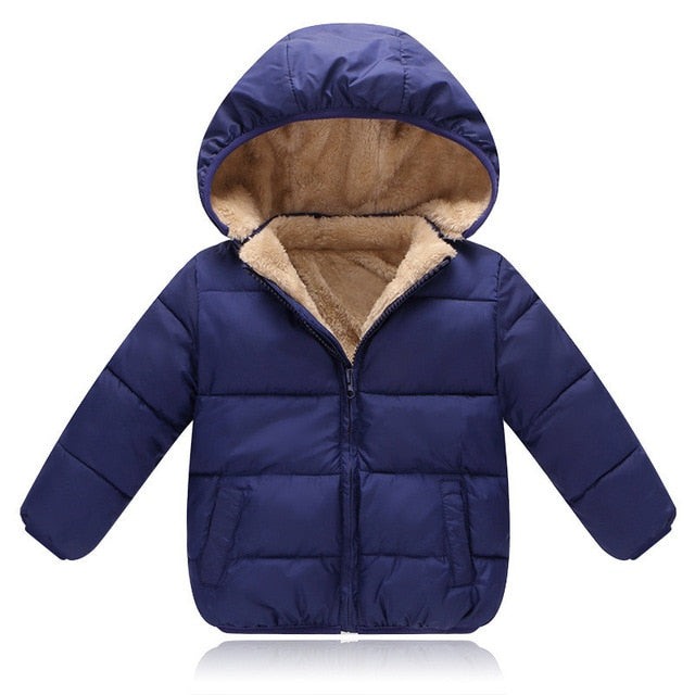 Baby Hooded Fleece Jacket