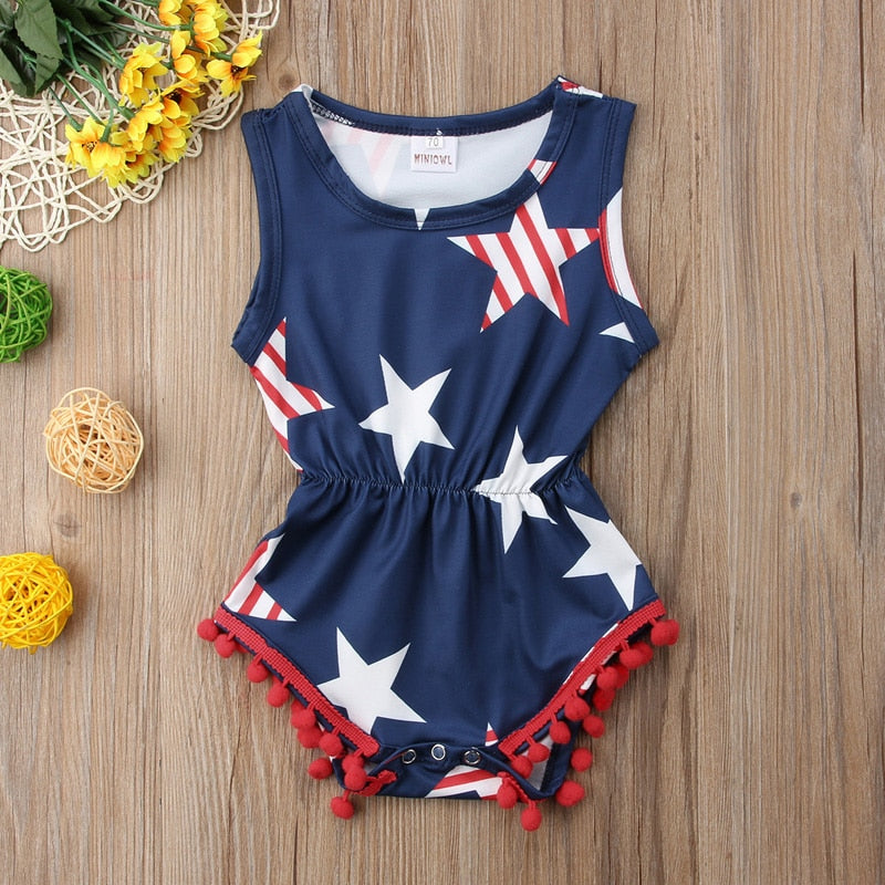 Fourth of July Playsuit
